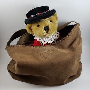 Tory Burch Marion Suede Handbag
